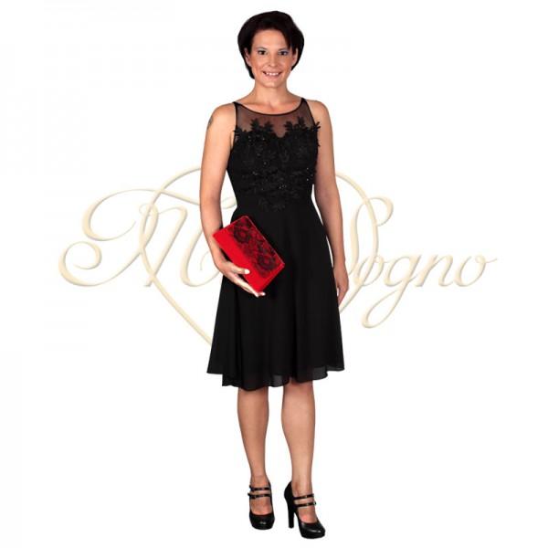 Super Galajurk kort Zwart - Mio Sogno Tassen, Galakleding en accessoires #DO83