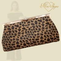 Clutch bruin leopard